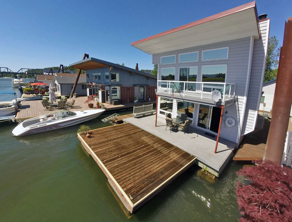 Portland Floating Homes ⋆ Everything you need to navigate