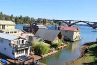 Willamette Moorages ⋆ Portland Floating Homes